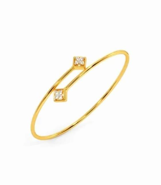 Bracelete em ouro 18k e diamantes - CÓDIGO - 09
