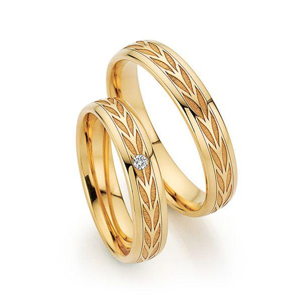 Par de alianças  em ouro 18k e diamantes - CÓDIGO - ALI41