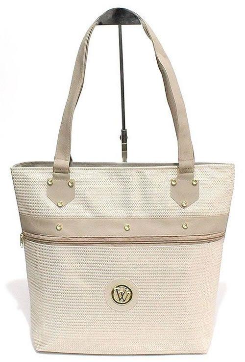 Bolsa sacola feminina de Lona