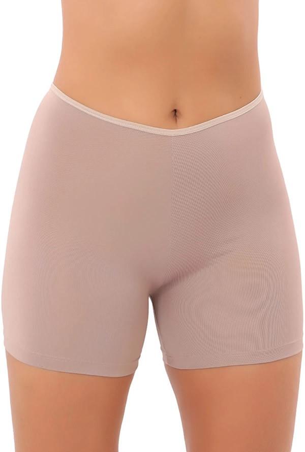 Bermuda Short Segunda Pele anagua, rosa não marca afina cintura