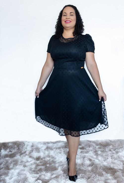 Vestido moda evangélica lady lake de tule poa forrado, vestido reveillon 2021
