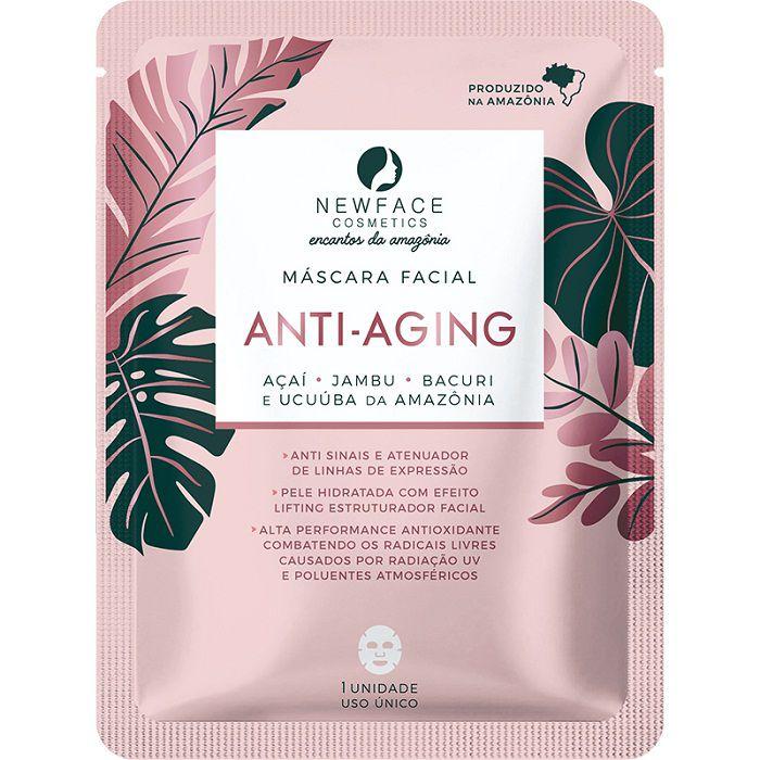 Máscara Facial Anti Aging