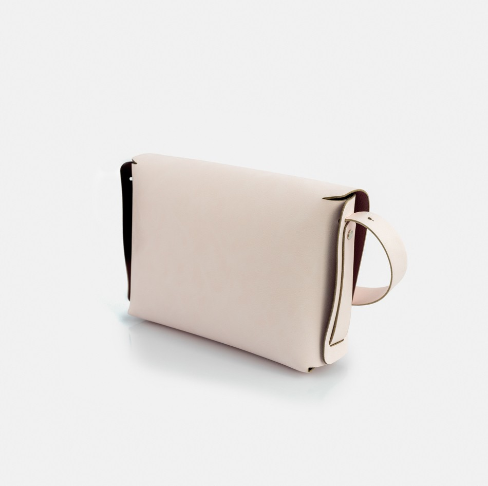 Bolsa 'Anne' Off Rose