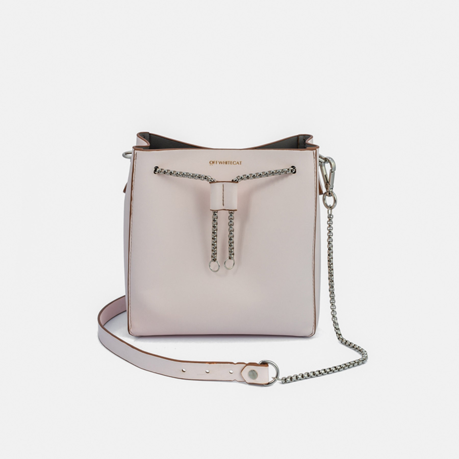 Bolsa Bucket 'Mini Lucy' Off Rose