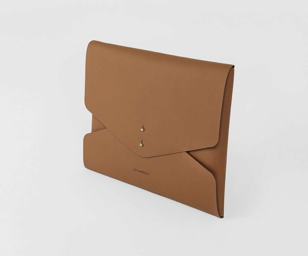 Bolsa Clutch 'Kim' Camel
