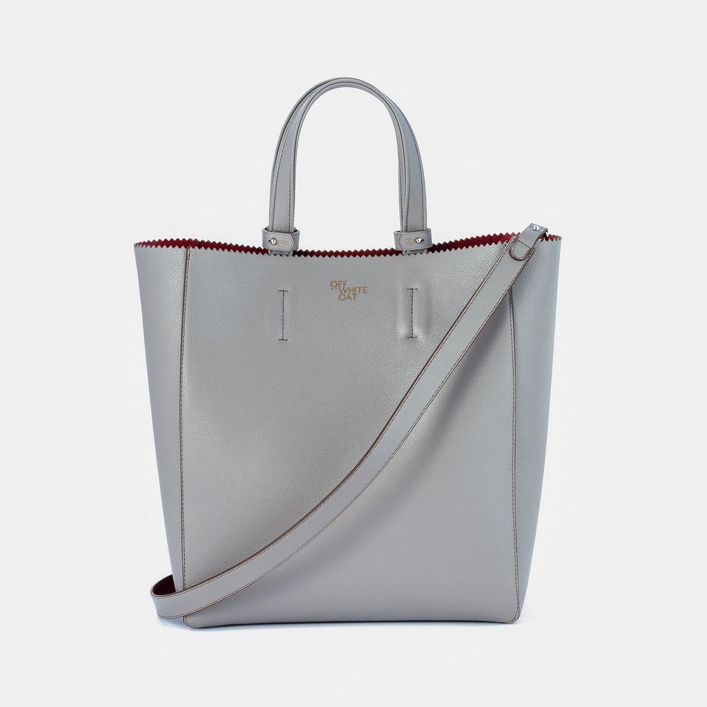 Bolsa 'Tess' Grey Grande