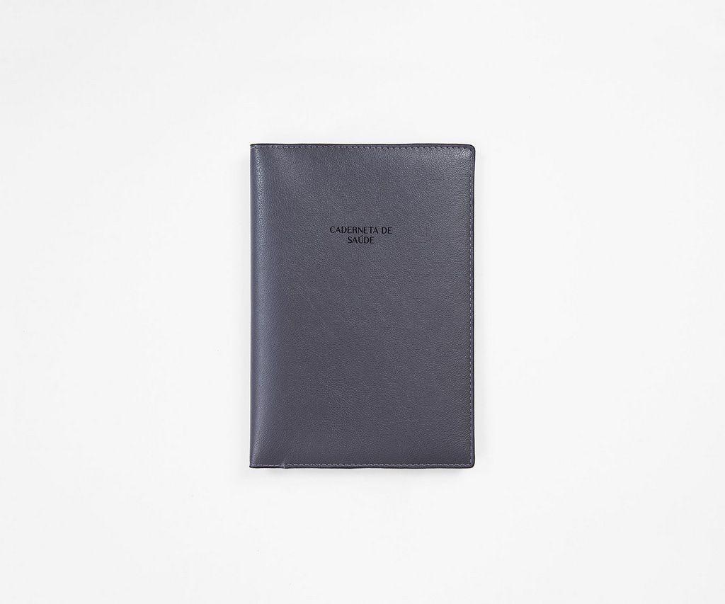 Capa Caderneta de Saúde 'Juno' Dark Grey
