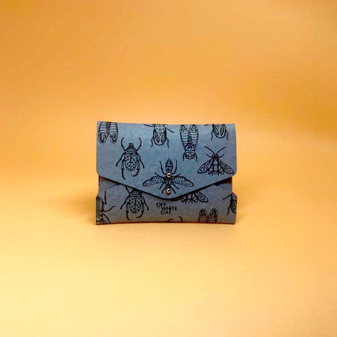 Carteira 'Lola' Soft Blue Pequena
