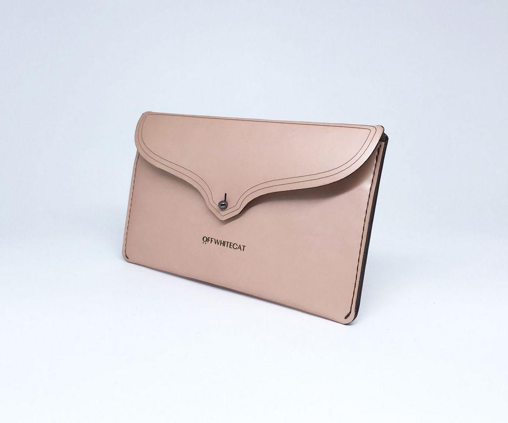 Carteira 'Nina' Metalic Blush Pequena