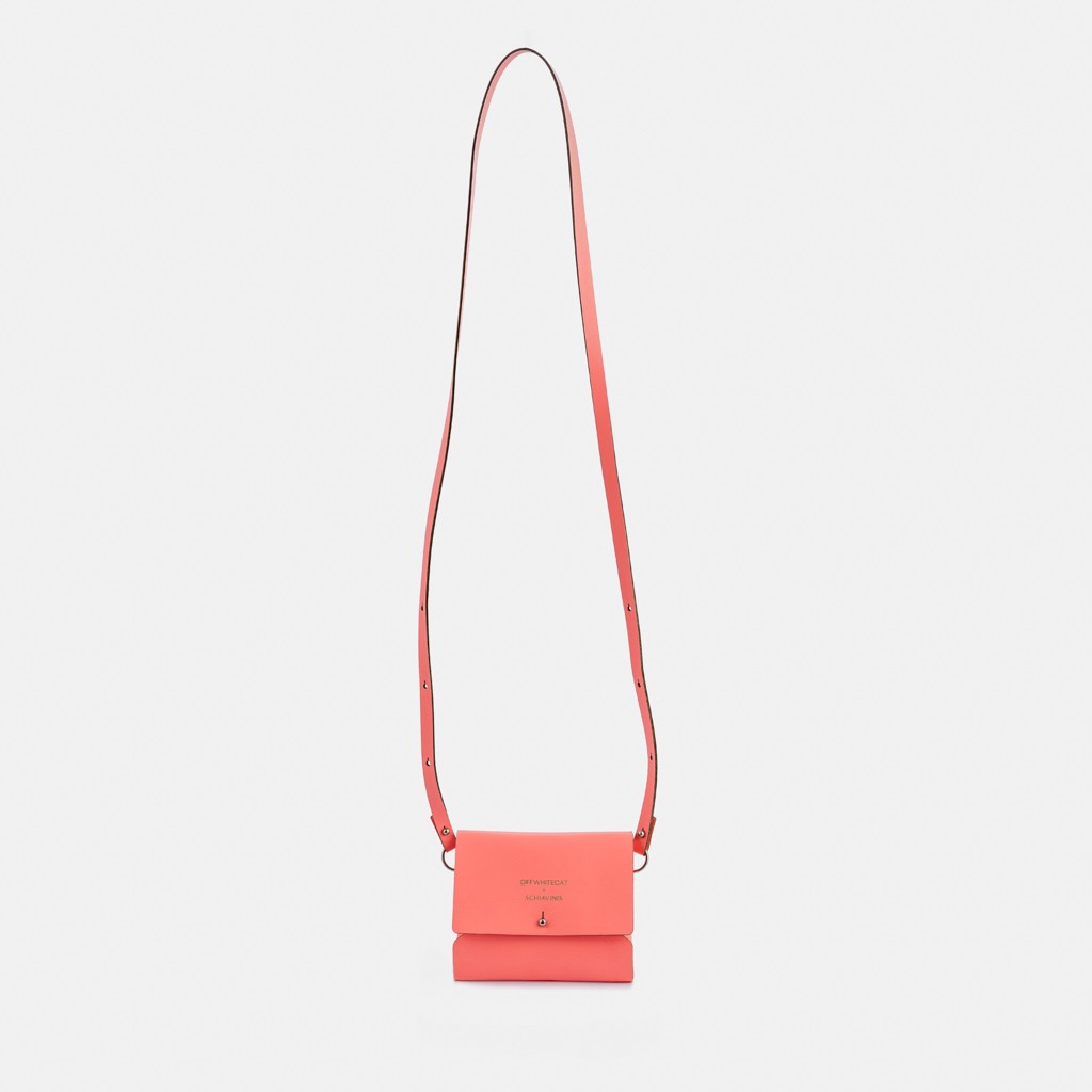 Micro Bag 'Cora' Coral  BY SCHIAVINIS