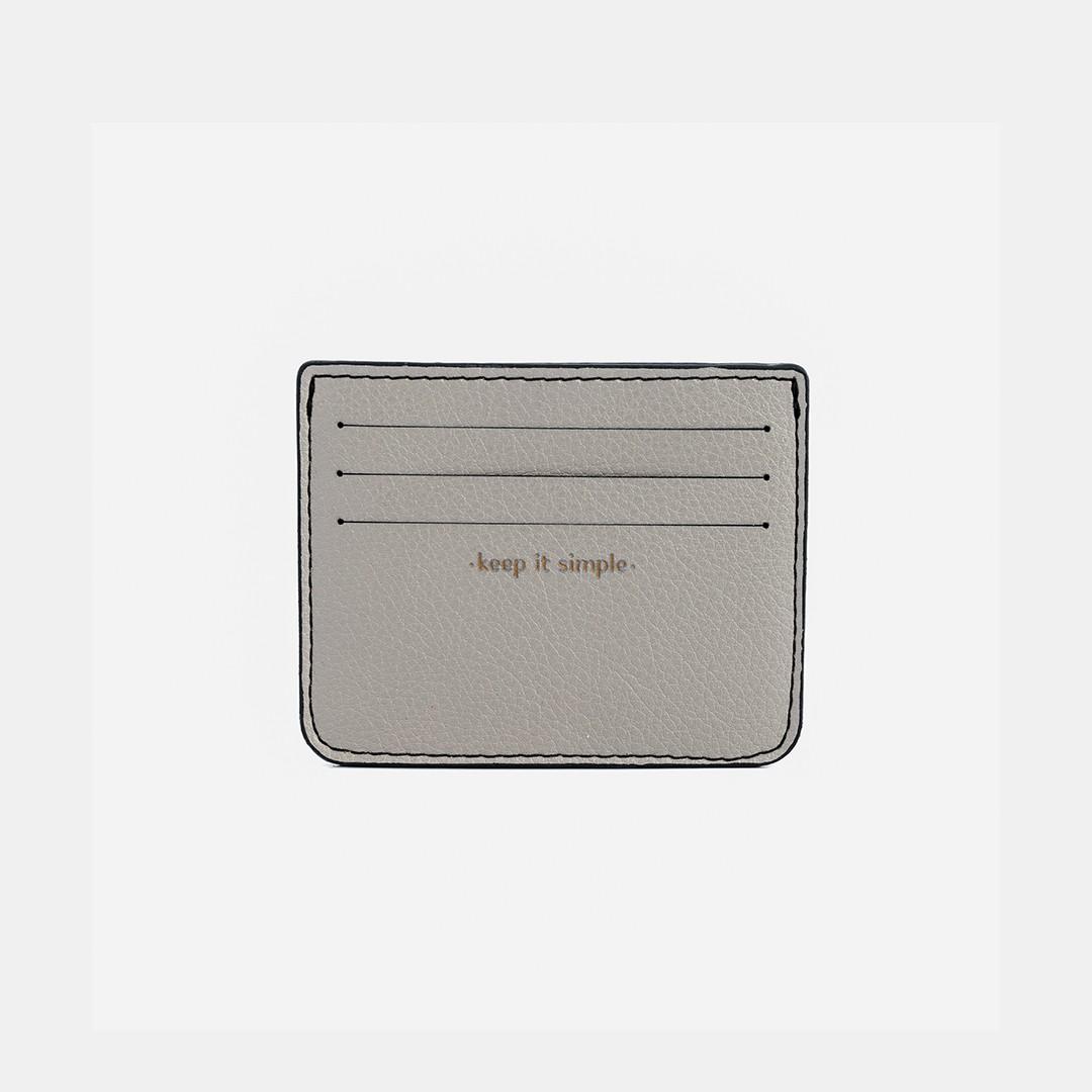 Porta Cartões 'Ozzy' Grey