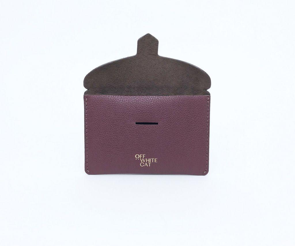Porta Documentos 'Lili' Bordeaux