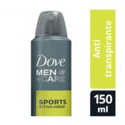 DESODORANTE AEROSOL DOVE MEN CARE EXTRA SPORTS 150ml - 2063