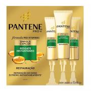 KIT 3 AMPOLAS PANTENE RESGATE INSTANTÂNEO - 9375