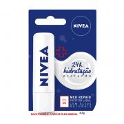 PROTETOR LABIAL NIVEA MED REPAIR FPS15 4,8g - 9621