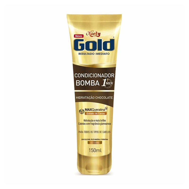 CONDICIONADOR NIELY GOLD CHOCOLATE BOMBA 1 150ml