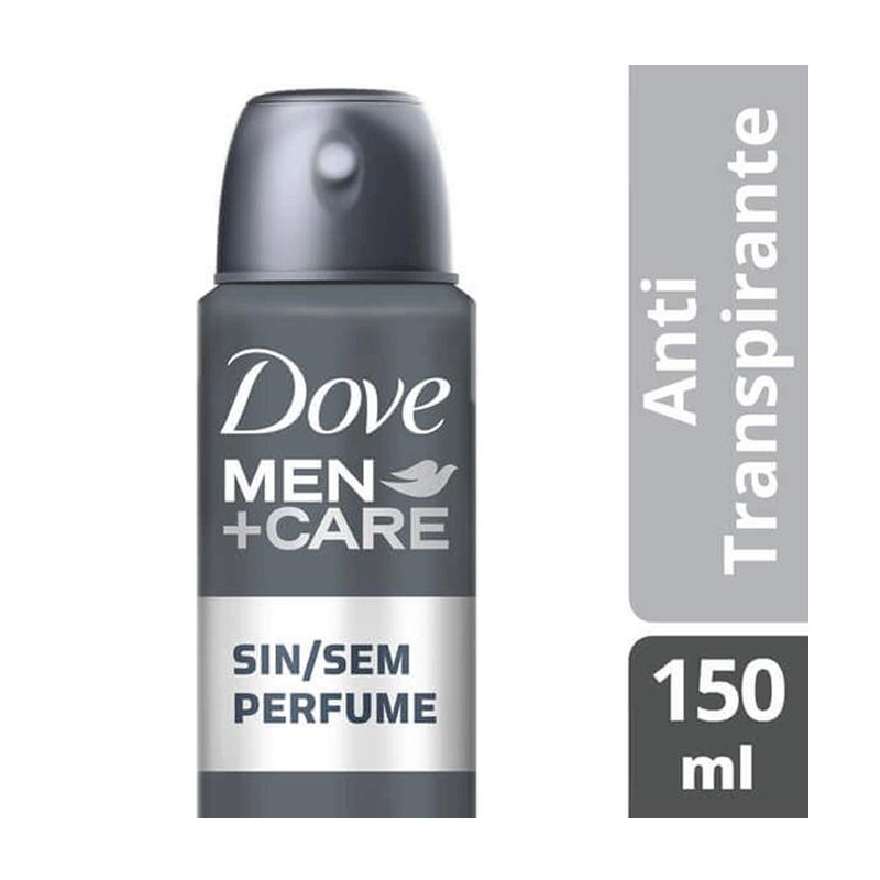 DESODORANTE AEROSOL DOVE MEN CARE SEM PERFUME 150ml - 4838
