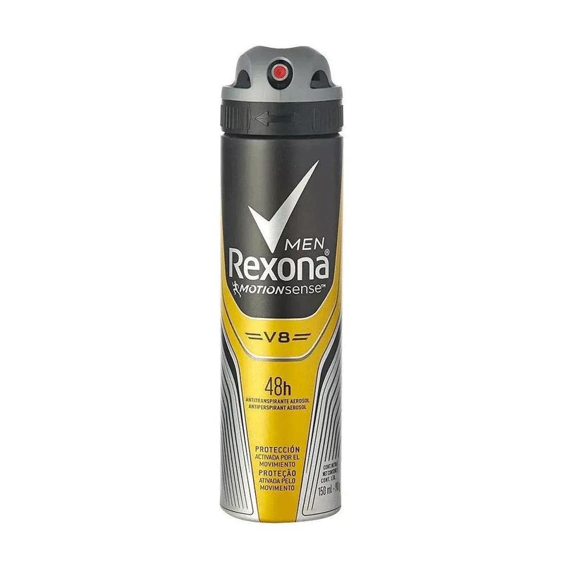 DESODORANTE REXONA MASCULINO V8 MOTIONSENSE 150ml - 2567
