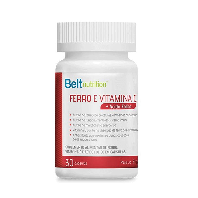 FERRO E VITAMINA C + ÁCIDO FÓLICO BELT - 7336