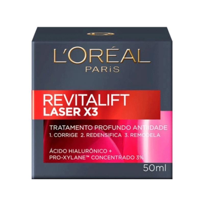 HIDRATANTE FACIAL L´OREAL REVITALIFT LASER X3 50ml - 6876
