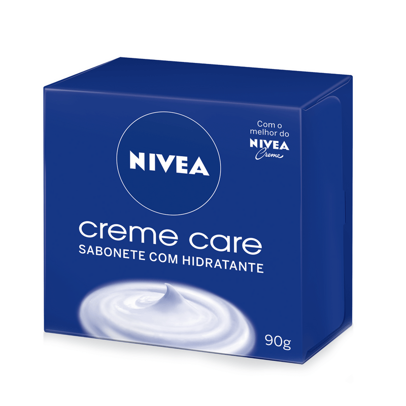 KIT NIVEA 2 SABONETES EM BARRA CREME CARE 90g - 2824