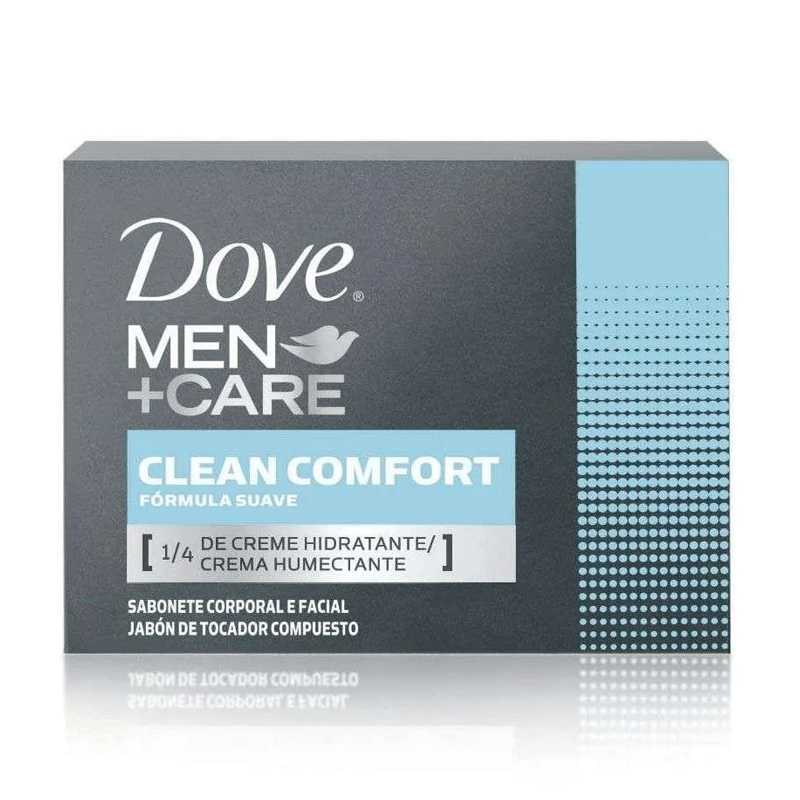 SABONETE EM BARRA DOVE MEN CARE CLEAN CONFORT - 6058