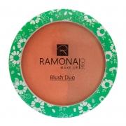 Blush Duo Ramona Cosméticos Nº3 Rosa/Marrom 10g