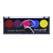 Paleta de Sombra Quinteto Ramona Cosméticos Cor 01
