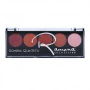Paleta de Sombra Quinteto Ramona Cosméticos Cor 2