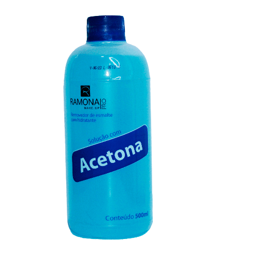 Acetona Ramona - Removedor de esmalte com hidratante 500ml