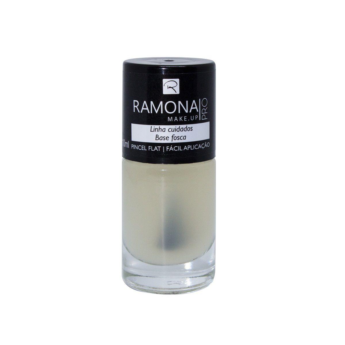 Esmalte Base cetim Ramona Cosméticos 10ml