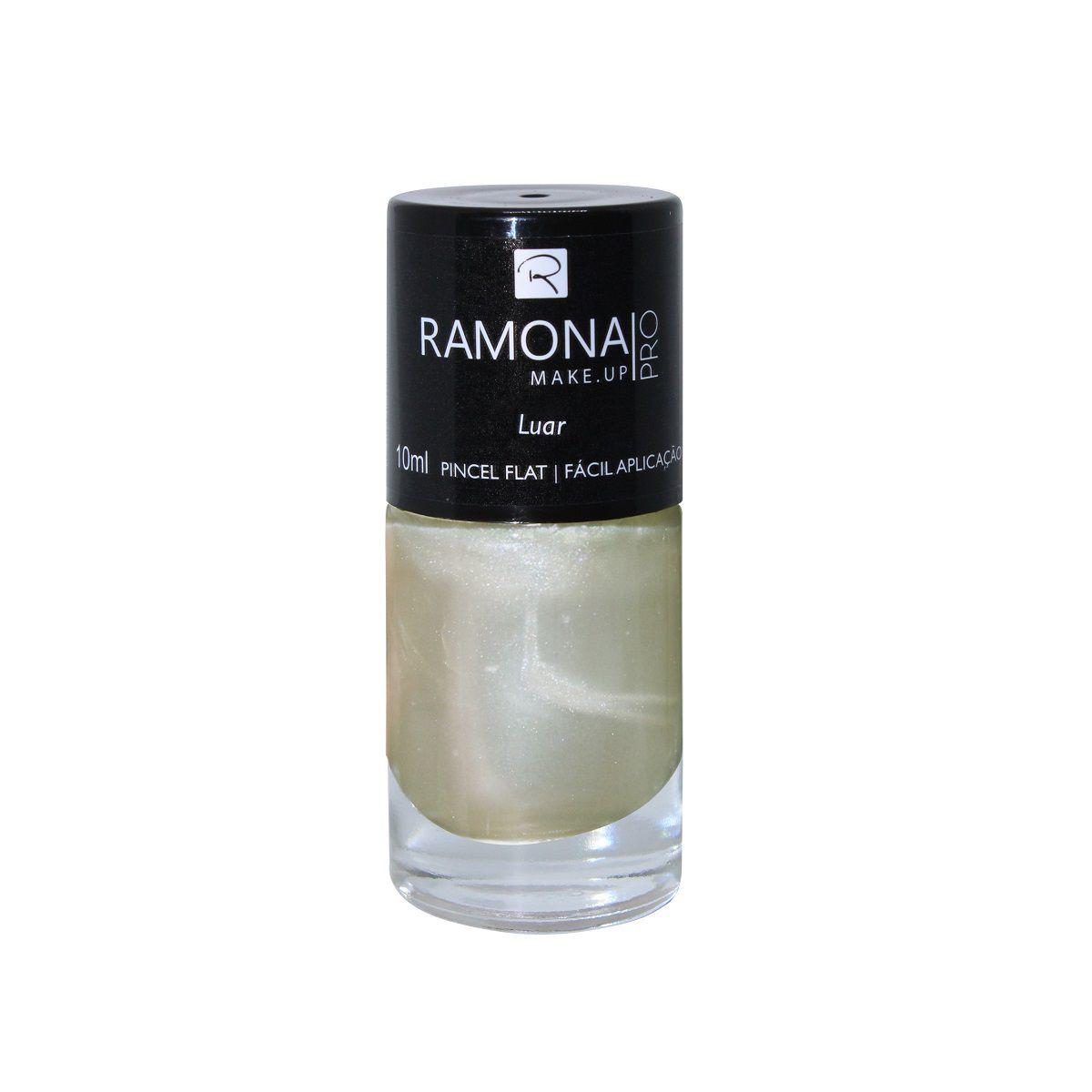 Esmalte cintilante Ramona Cosméticos Luar 10ml