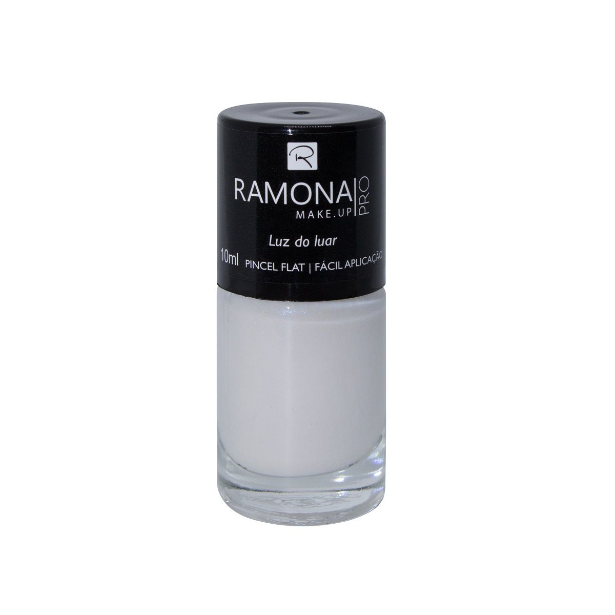 Esmalte cintilante Ramona Cosméticos Luz do luar 10ml