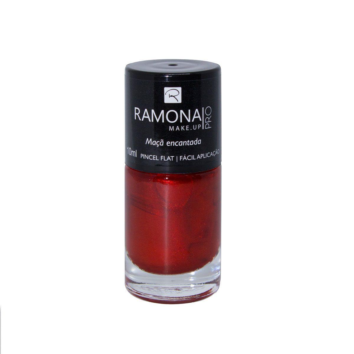 Esmalte cintilante Ramona Cosméticos Maçã encantada 10ml