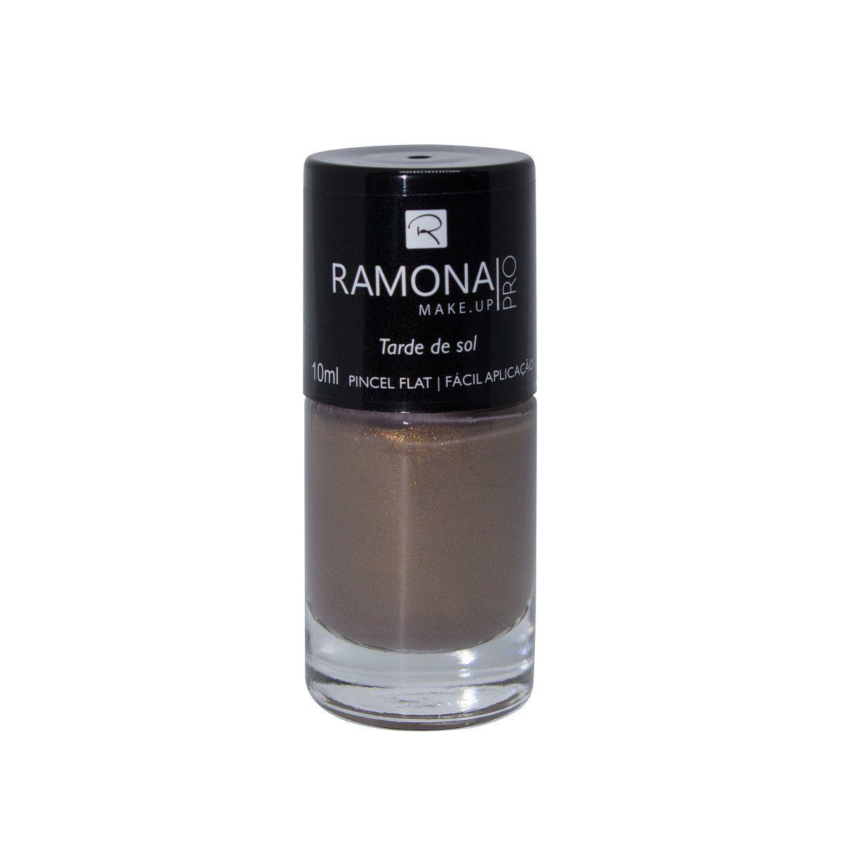 Esmalte cintilante Ramona Cosméticos Tarde de sol 10ml