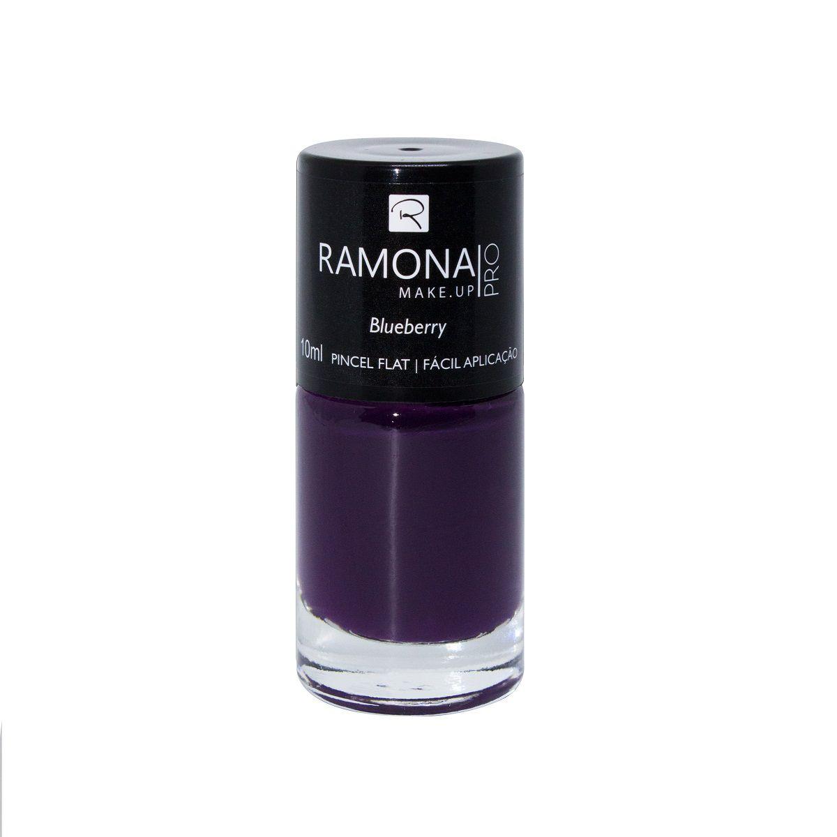 Esmalte cremoso Ramona Cosméticos Blueberry 10ml