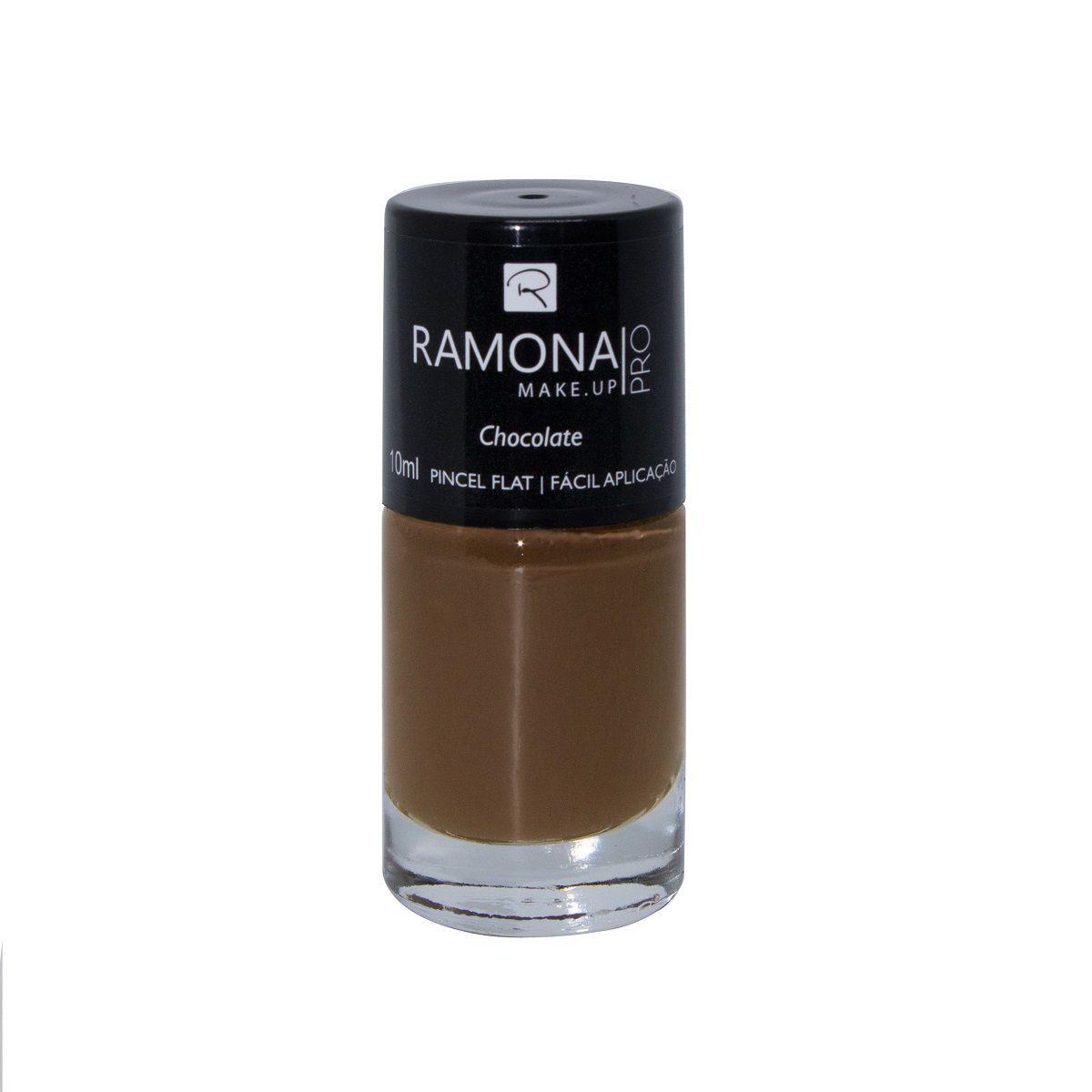 Esmalte cremoso Ramona Cosméticos Chocolate 10ml