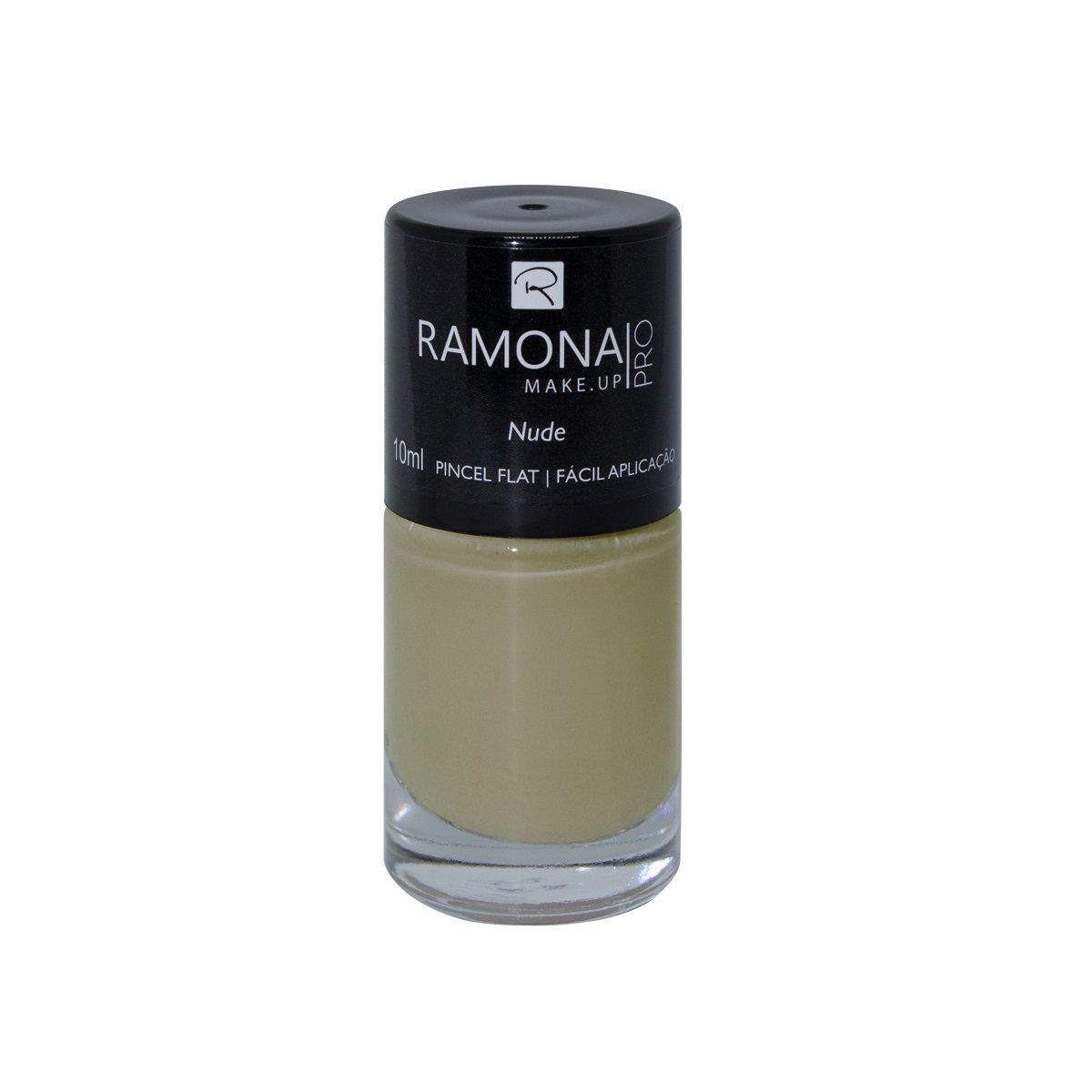 Esmalte cremoso Ramona Cosméticos Nude 10ml