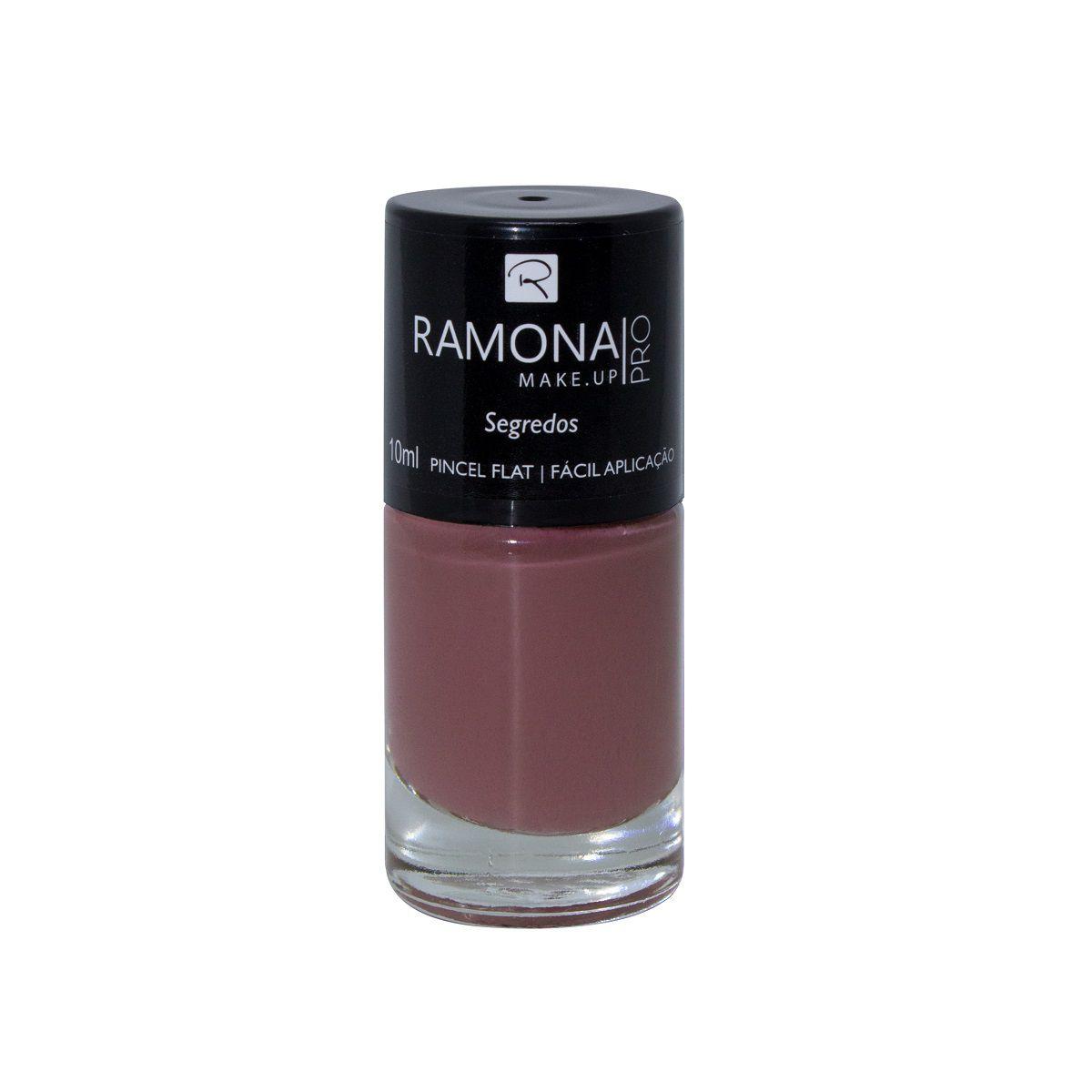 Esmalte cremoso Ramona Cosméticos Segredos 10ml