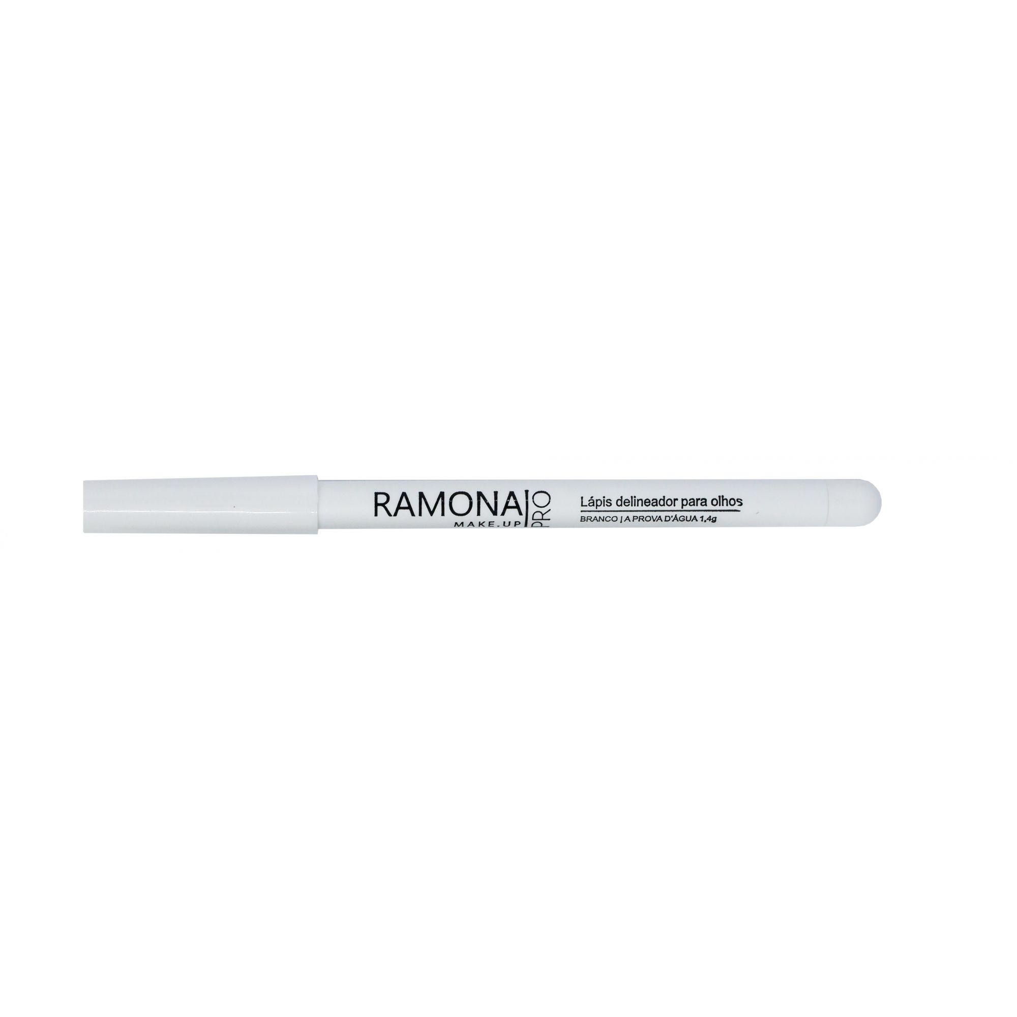 Lápis para Olhos Ramona Cosméticos Cor Branco 1,4gr