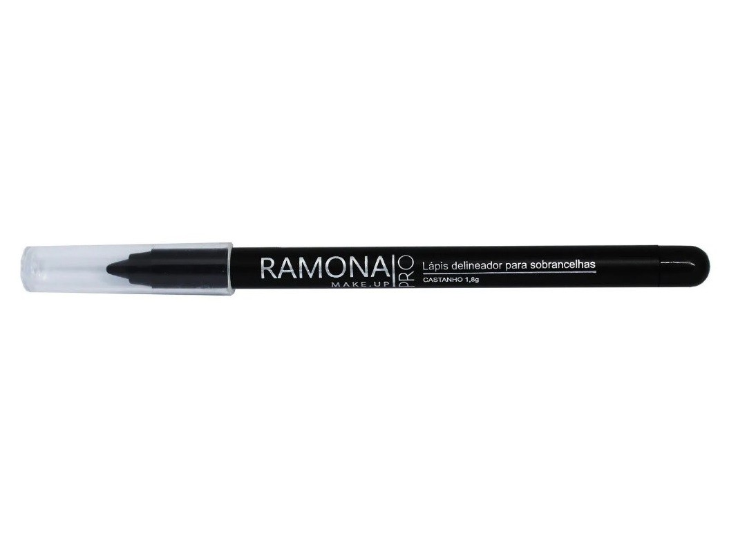 Lápis para Sobrancelhas Ramona Cosméticos Cor Castanho 1,6gr