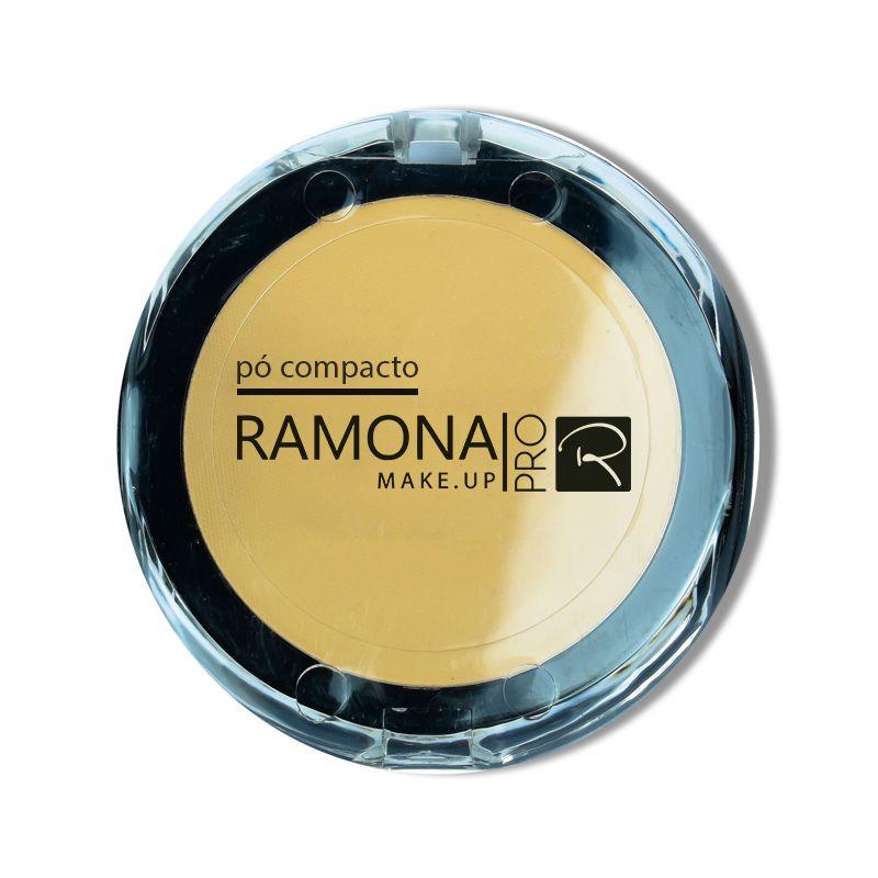 Pó Compacto Ramona Cosméticos Nº2 Bege Claro 10gr