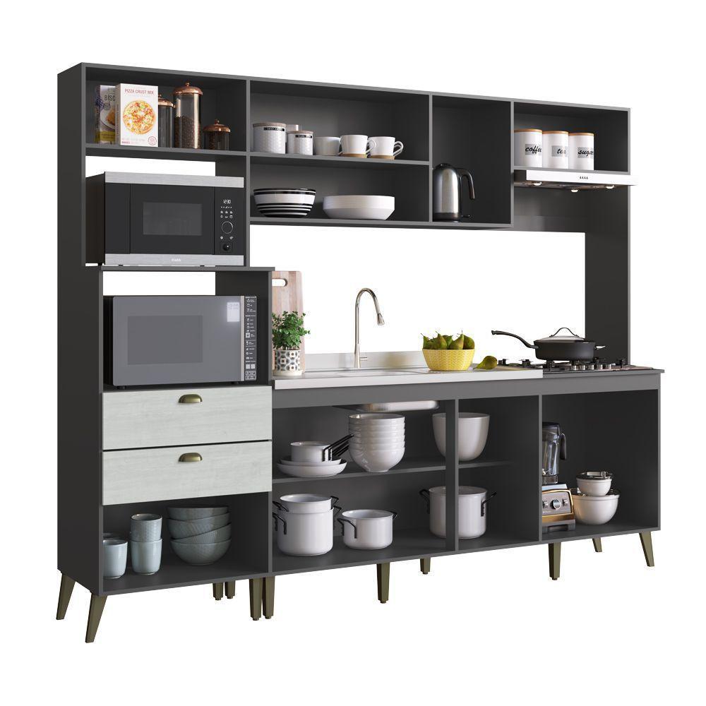 Cozinha Compacta Casamia Arista