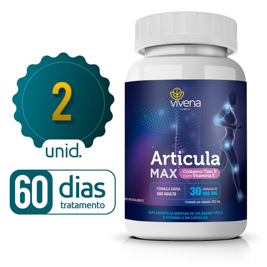 Articula Max - 02 Frascos - 60 dias de tratamento