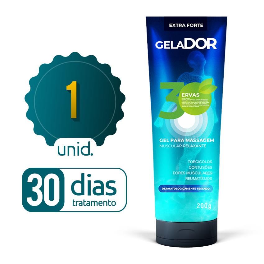 Gelador - 01 bisnaga - 30 dias de tratamento
