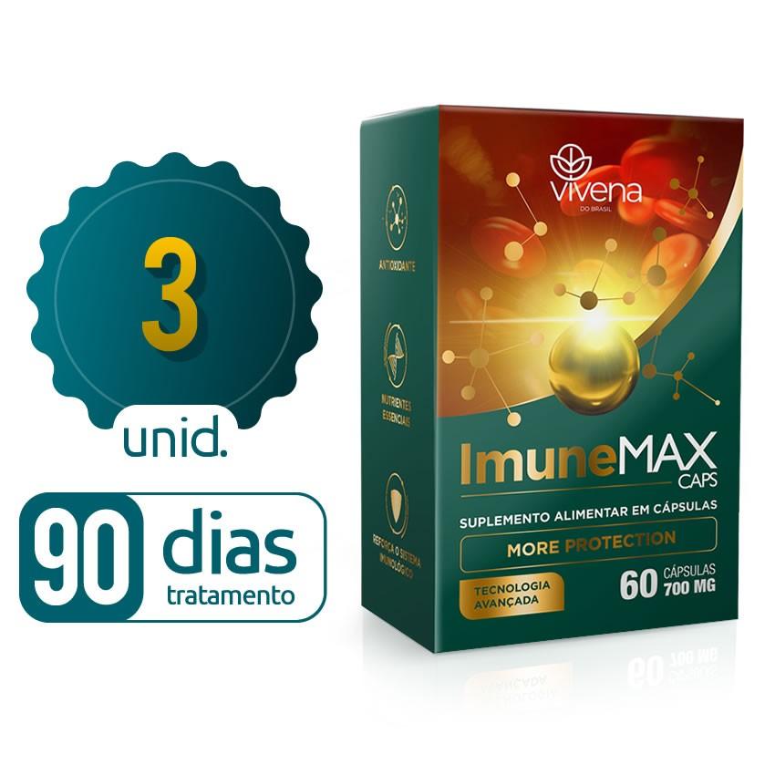 Imune Max - 03 caixas - 90 dias de proteção - Black Friday