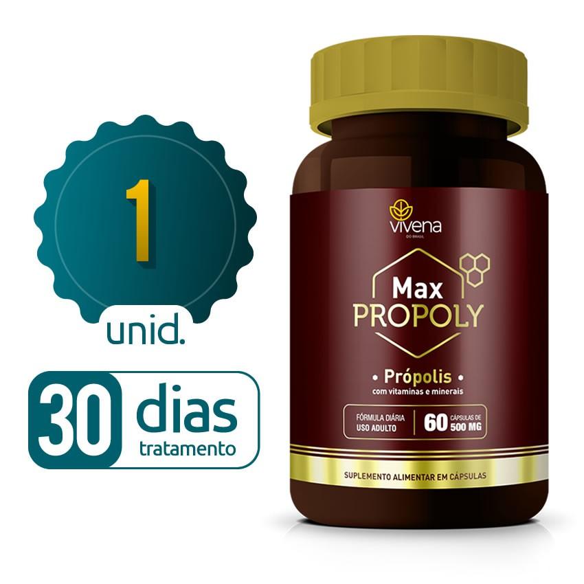 Max Propoly - 01 frasco - 30 dias de tratamento