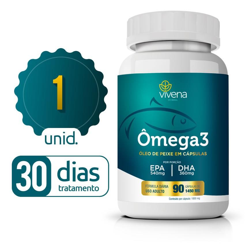 Ômega 3 - 01 Frasco - 30 dias de tratamento