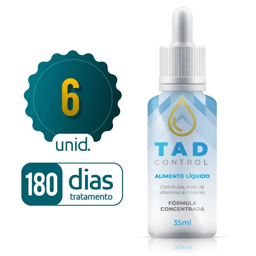 Tad Control - 06 Frascos - 180 dias de tratamento - 70% OFF