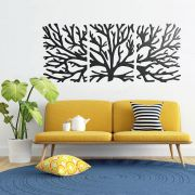 Quadro Decorativo MDF Galhos de Árvore 3 Pçs Beatriz  Shop Conforto